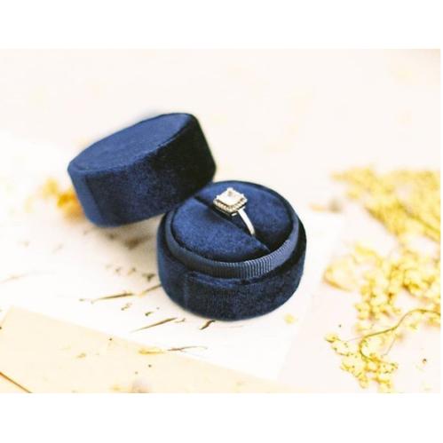 Weeding Velvet Ring Box For Jewelry