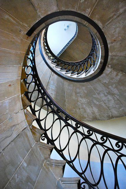 spiral staircase by wolfsavard, via Flickr