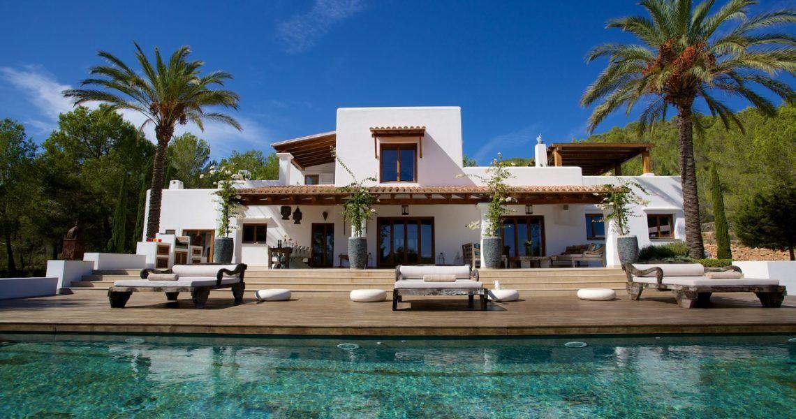 Beautiful 6 Bedroom Villa With Infinity Pool And Sea View Near San Carlos Luxury Villa New Mexico Homes Villa Design