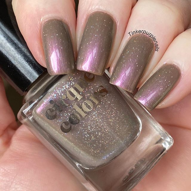 Tinker Purple Nails Viviane On Instagram This Is Vanitas By Cirquecolors From The Still Life Collection Beautiful Shimmer With A Great Formula You Can F