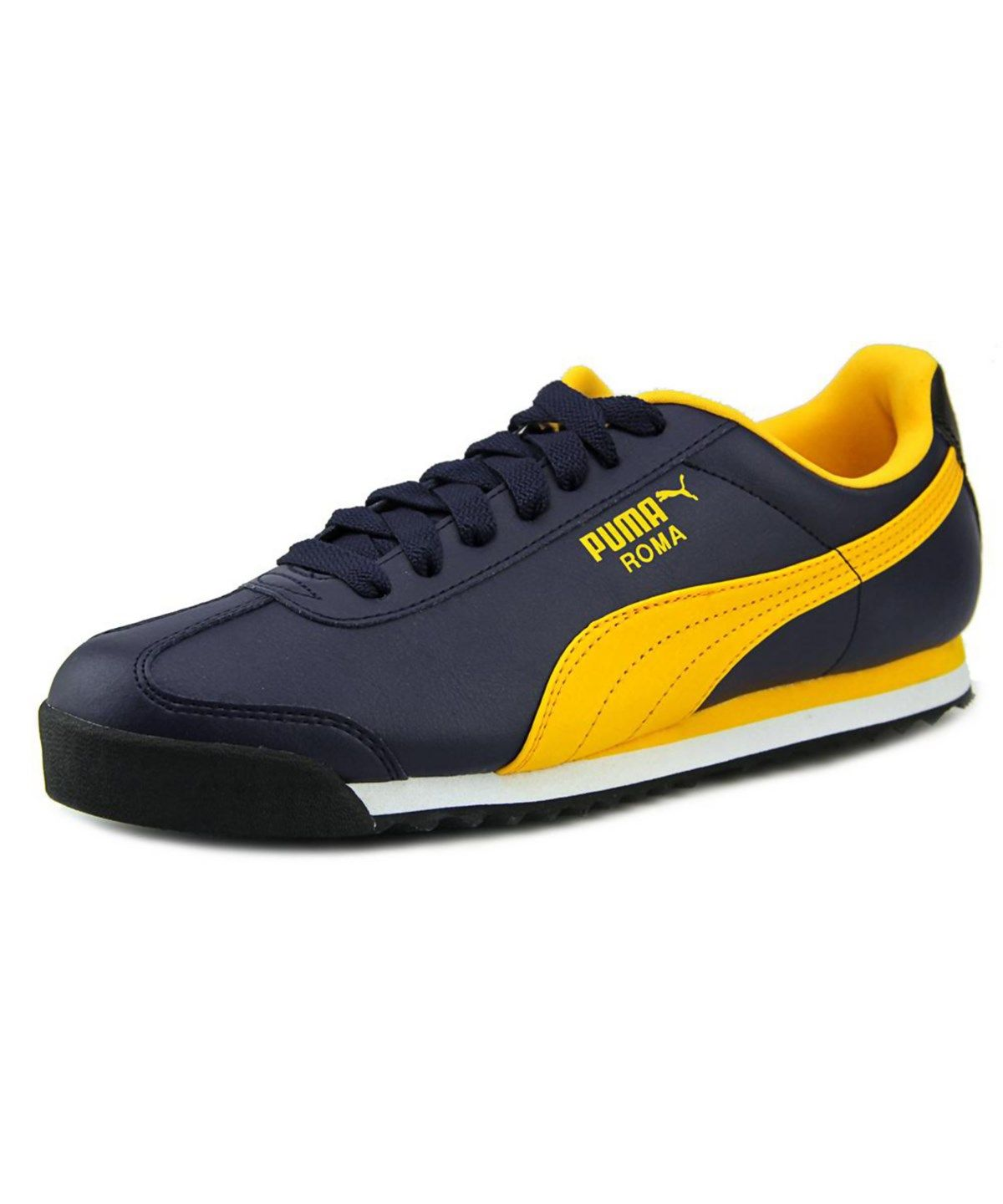 27bfbb32d11 PUMA PUMA ROMA BASIC MEN ROUND TOE SYNTHETIC BLUE WALKING SHOE .  puma   shoes  sneakers