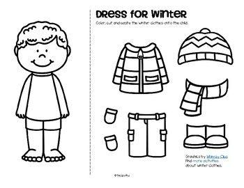 Winter Clothes Dress Boy And Girl Free Com Imagens Inverno Pre