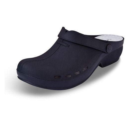 ae01af06d5c Footwear for Nurses Zuecos-Sanitarios-Slin-Negro | Professional ...