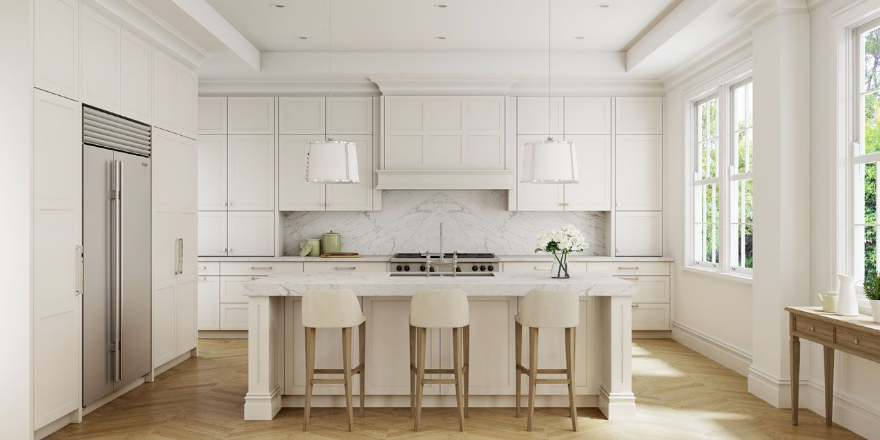 Kitchen Images & Inspiring Design Ideas | Wolf appliances, Shaker ...