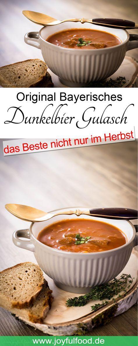 Bayerisches Dunkelbiergulasch #herbstgerichte
