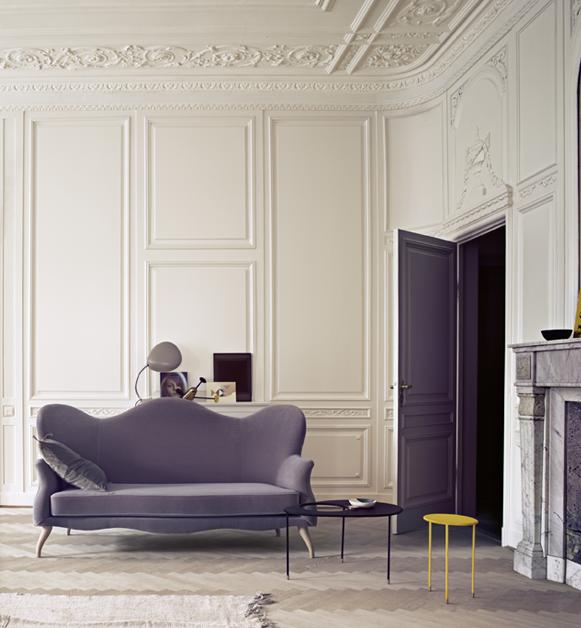 Matgot Kangourou Table whiteblack  For the Home  Dcoration salon moderne Mobilier Salon