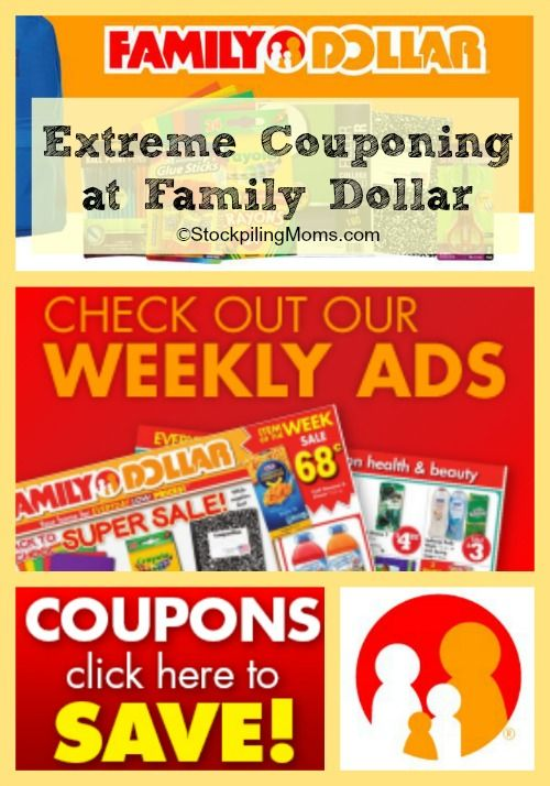 Extreme Couponing At Family Dollar Family Dollar Coupons Family Dollar Extreme Couponing