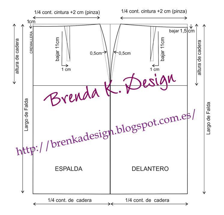 Brenka Diseño+Moda: MODA y PATRONES: Como hacer una FALDA PEPLUM ...