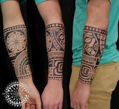 Resultado De Imagem Para Maori Tattoo Brazalete Tattoo Pinterest