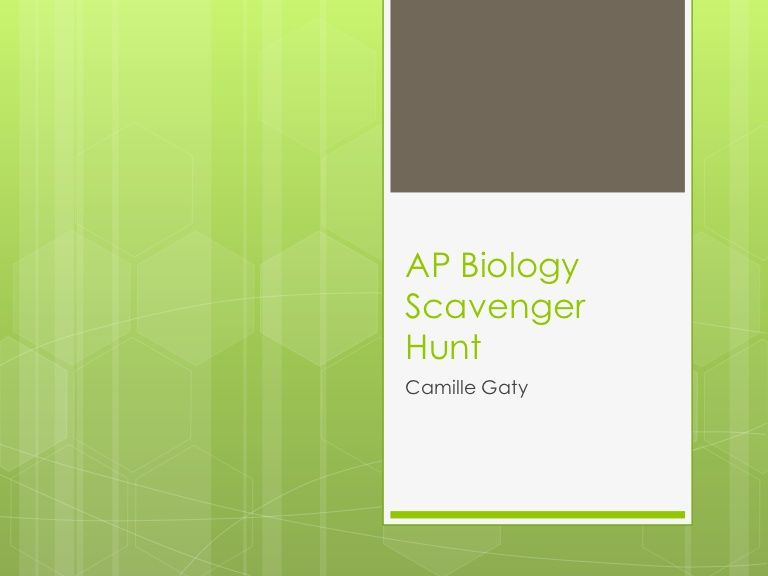 biology eoc study guide scavenger hunt ebook
