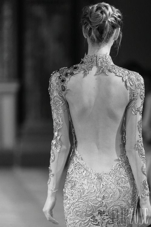 backless…lace