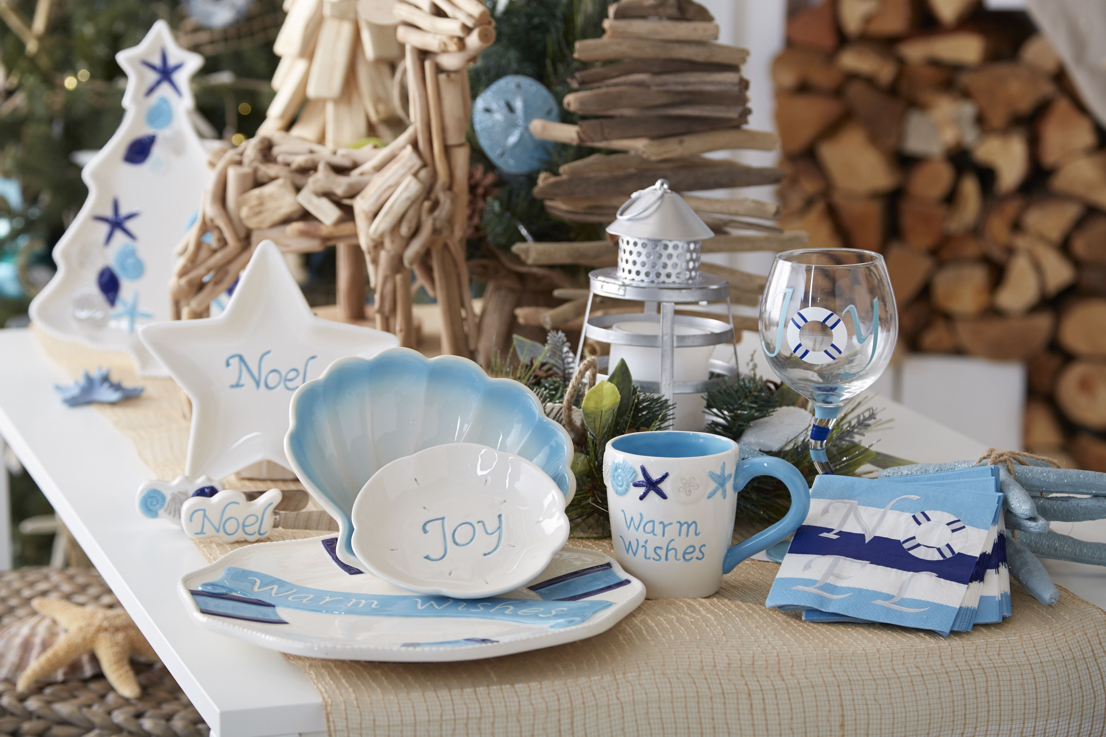 Coastal Wishes   White Christmas Holiday Entertaining Inspiration ...
