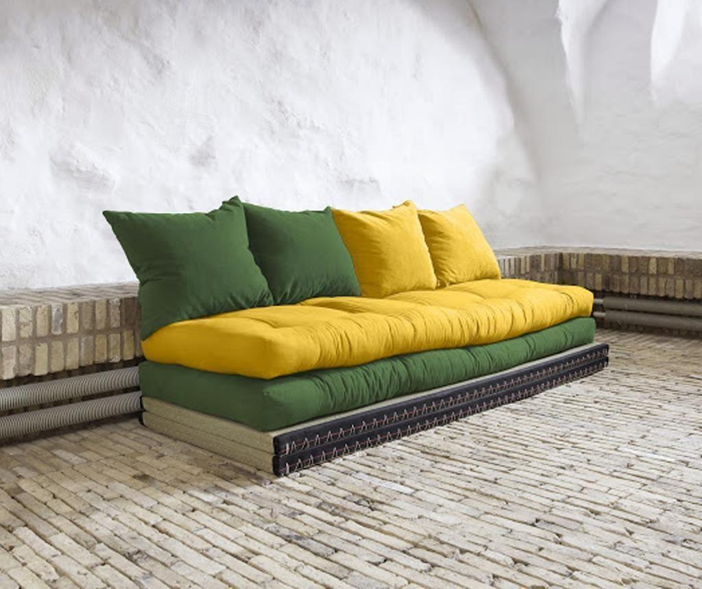 Chico Botella Amarillo Kihúzható Kanapé Futon sofa