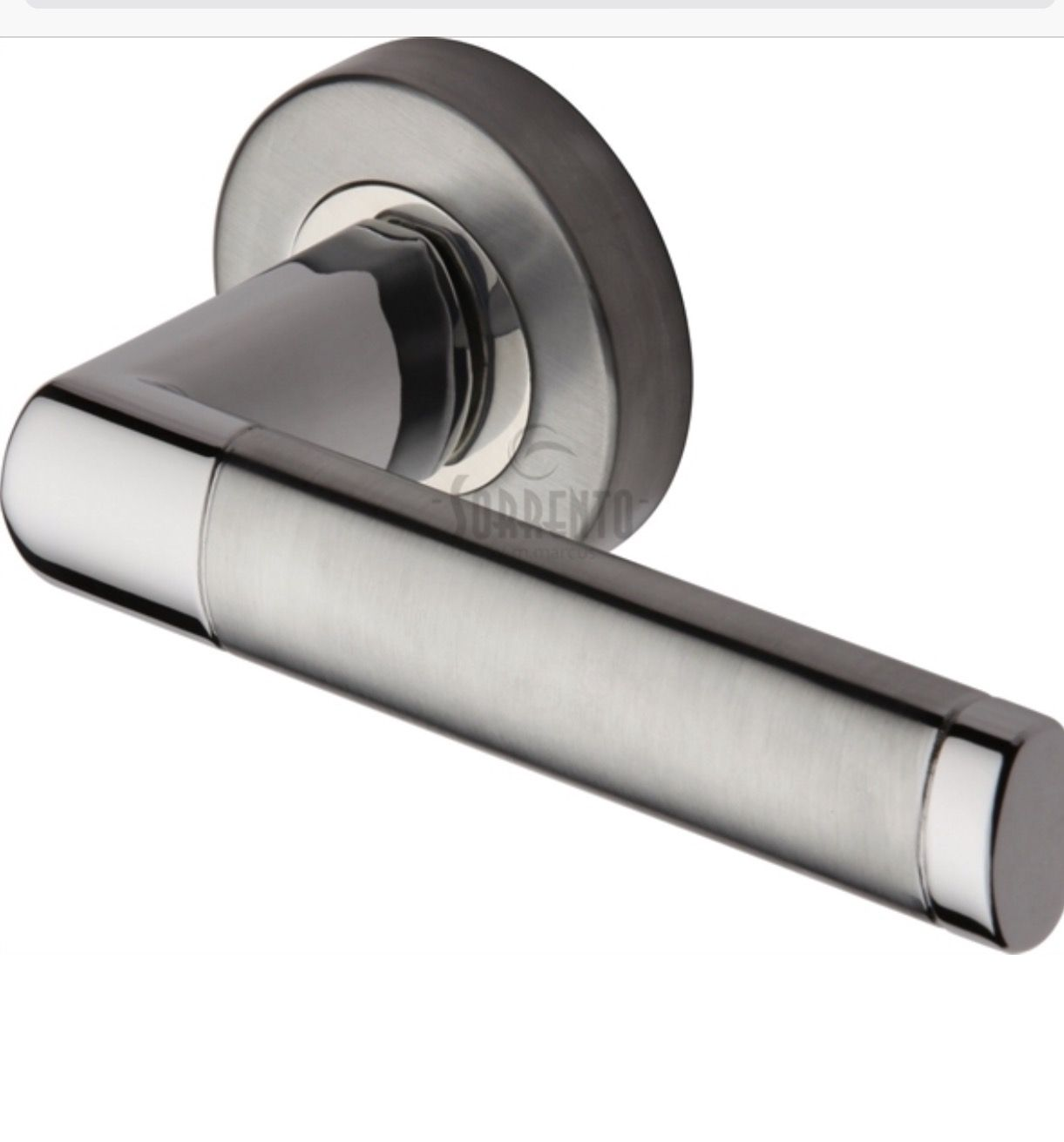 Milan Lever On Rose Door Handle Dimensions 120 X 53 Supplied In Pairs Supplied With Spindle Screws Sorrento Italian Sty Door Handles Fire Doors Lever