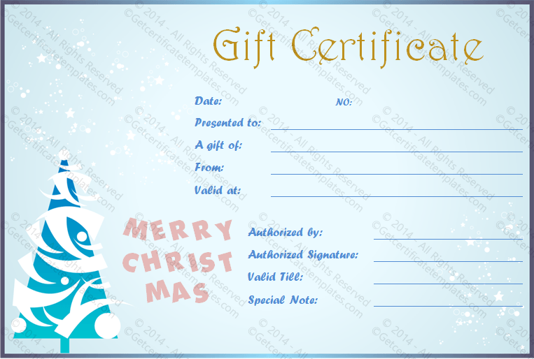 Free holiday gift certificates templates to print certificate free holiday gift certificates templates to print certificate templates gift certificates and certificate yadclub Gallery