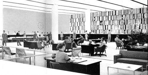 Gordon Bunshaft | Manufacturers Trust 1954