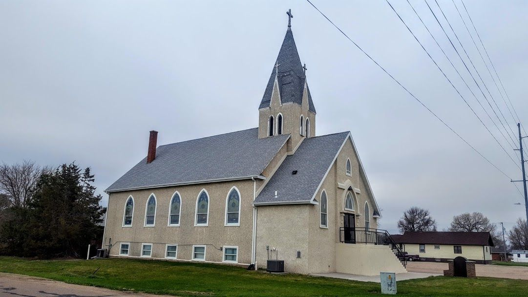Maria Lutheran Church in Hershey (Lincoln County) House
