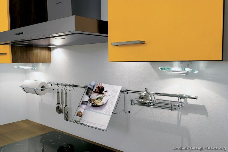 #Kitchen Idea Of The Day: Todayu0027s Backsplash Storage Options Are Versatile  And Diverse,