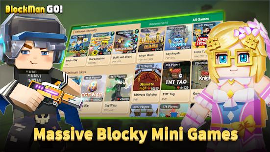 Blockman Go Blocky Mods Game Free Offline Download