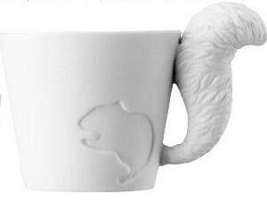 Limited Edition Cat/Rabbit/Squirrel/Fawn Premium Ceramic Mug