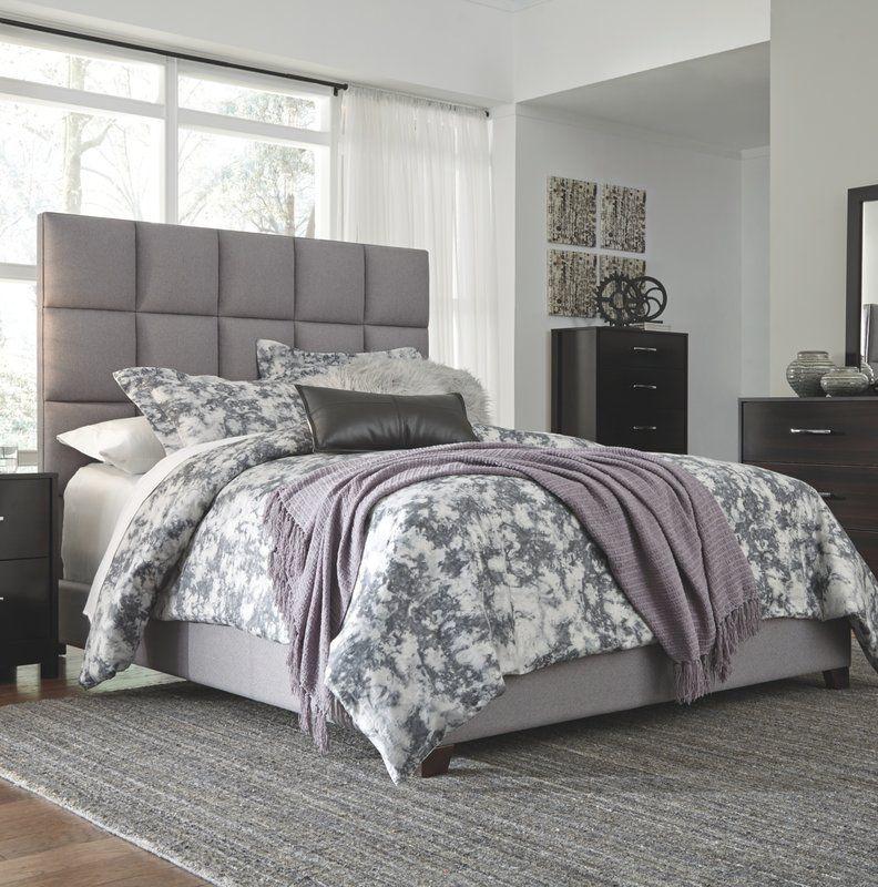 Best Gomes Upholstered Standard Bed Upholstered Beds 400 x 300