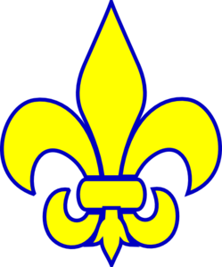 cub scout fleur de lis clip art google search scouts pinterest rh pinterest com cub scout webelos clipart