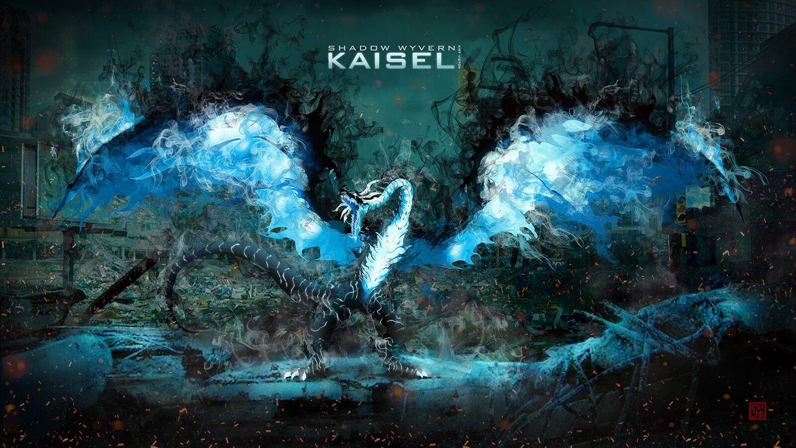 KAISEL SOLO LEVELING WALLPAPER, Kirt Victor