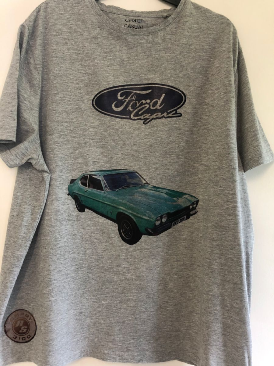Ford Capri Rs Personalised T Shirt In 2020 Personalized T