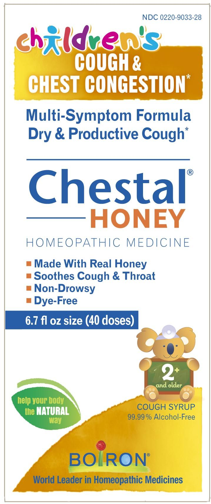 Children's Chestal® Honey Chest congestion, Cough