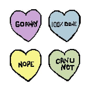 Rude Candy Hearts Cross Stitch Pattern On Etsy 500 My