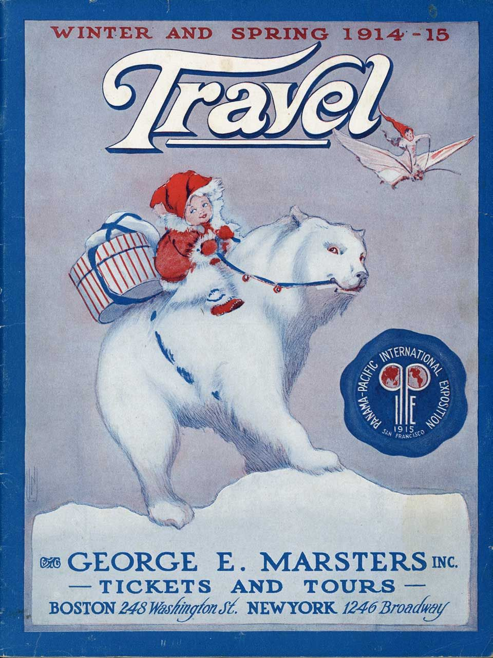 Ancestor of Coca Cola Polar Bears? 1914