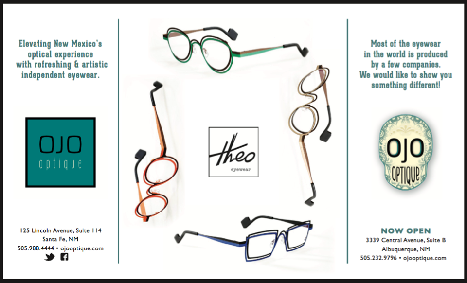 Eyewear available at Ojo Optique of Santa Fe & Nob Hill! #ojooptique #independent #eyewear