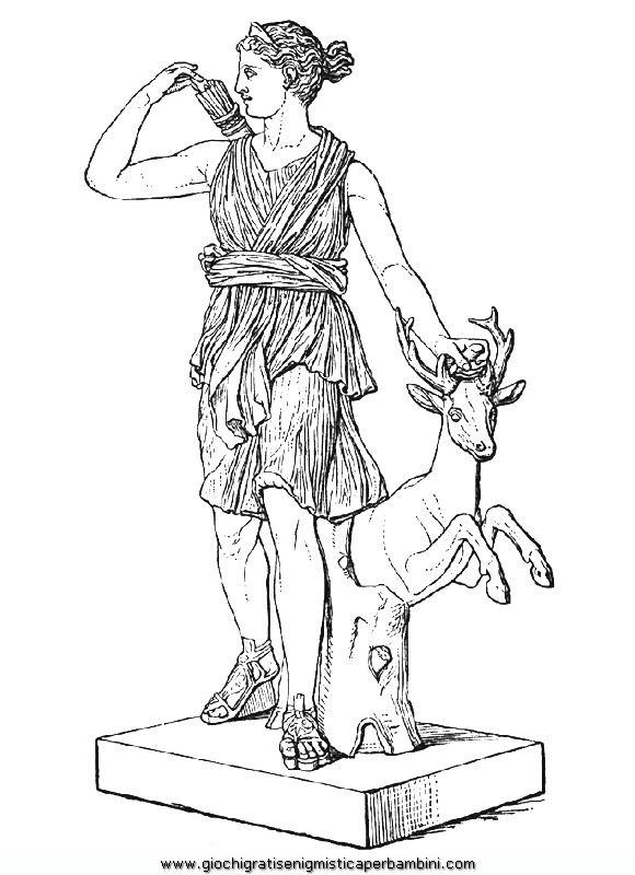 mitologia 00 disegni da colorare