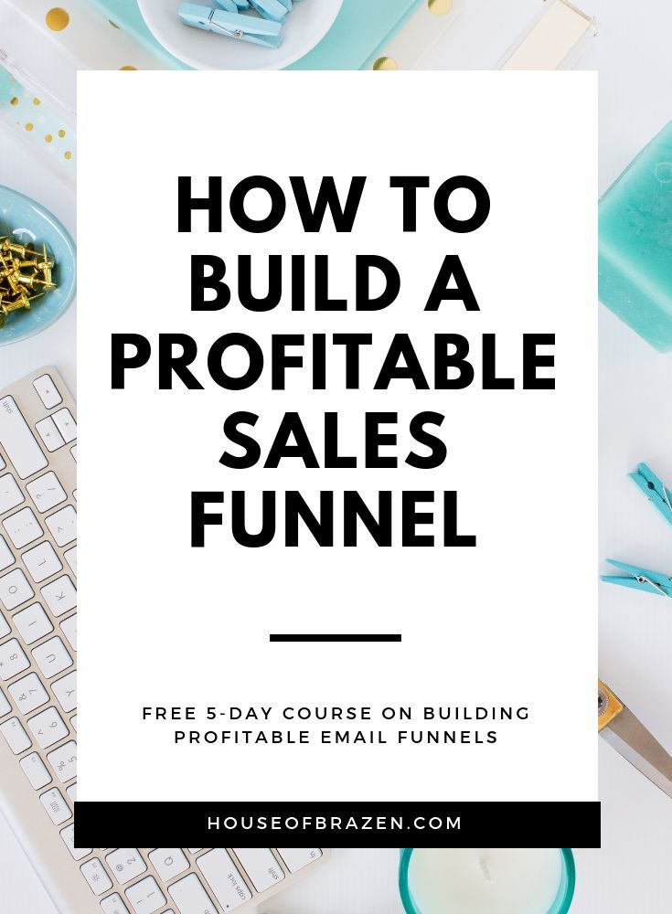 5Day Sales Funnel Course is part of Sales funnels, Sales funnel design, Marketing funnel, Funnel, Business tips, Marketing - BUILD A PROFITABLE SALES FUNNEL FREE 5DAY COURSE In this 5day course I'll share how I've been able to build my 6figure business with the help of sales funnels and the things I did to get there  Here's what you'll   READ MORE