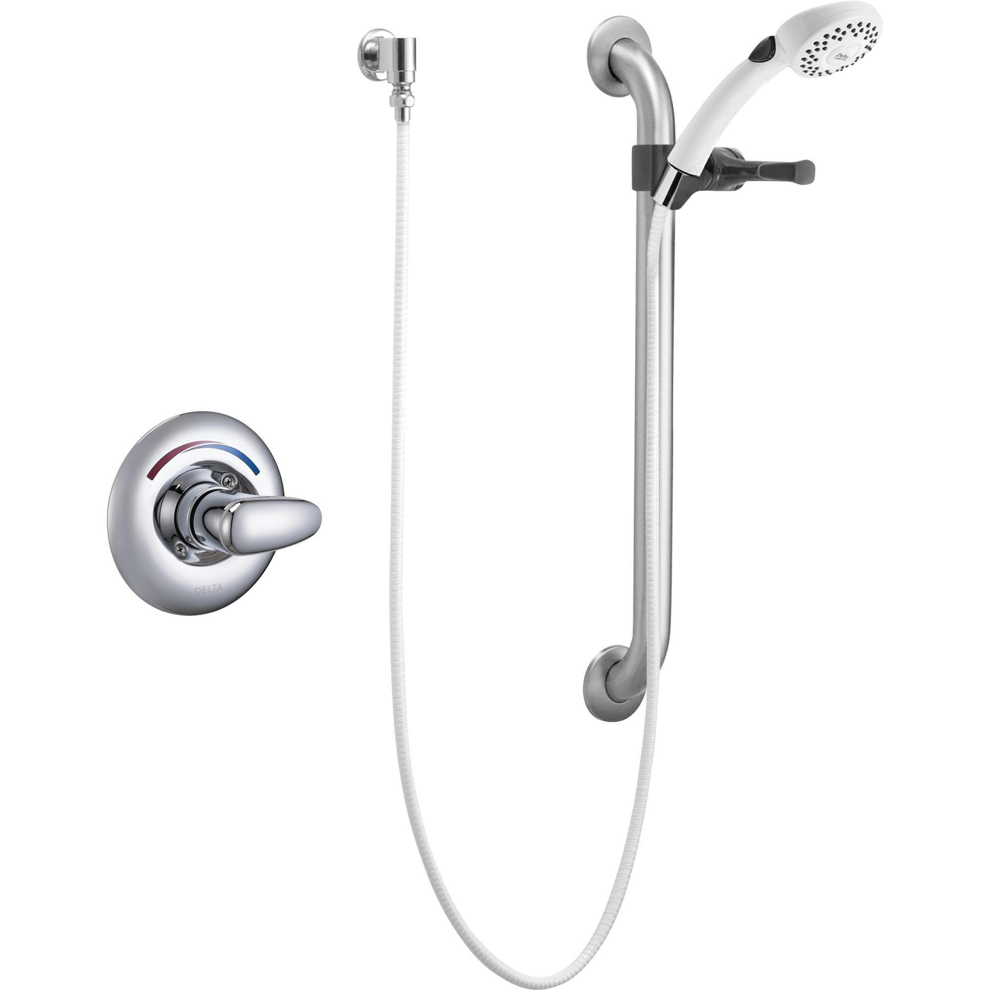 Delta Faucet T13h152 Single Handle Shower Valve Trim Less Shower
