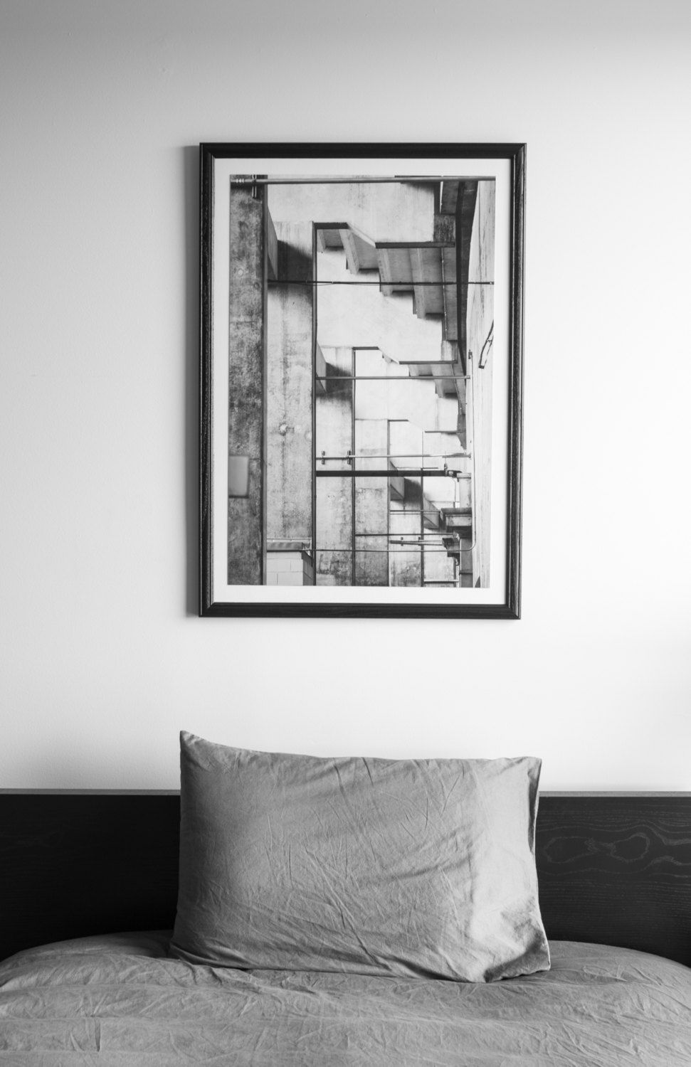 OSU Stadium Detail — Matted & Framed by AspergerWorks on Etsy