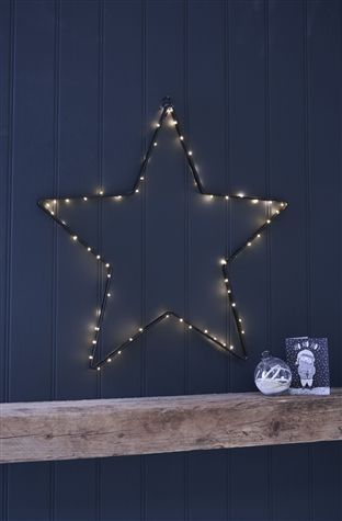 Buy Large Light Up Wall Star From The Next Uk Online Shop Framed