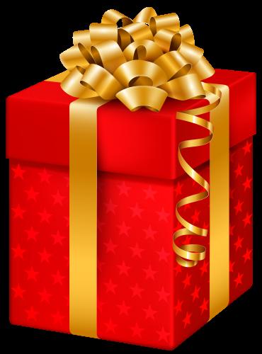 Krasnyj Podarochnoj Korobke S Zvezdami Png Klipart Red Gift Box Christmas Images Gift Box