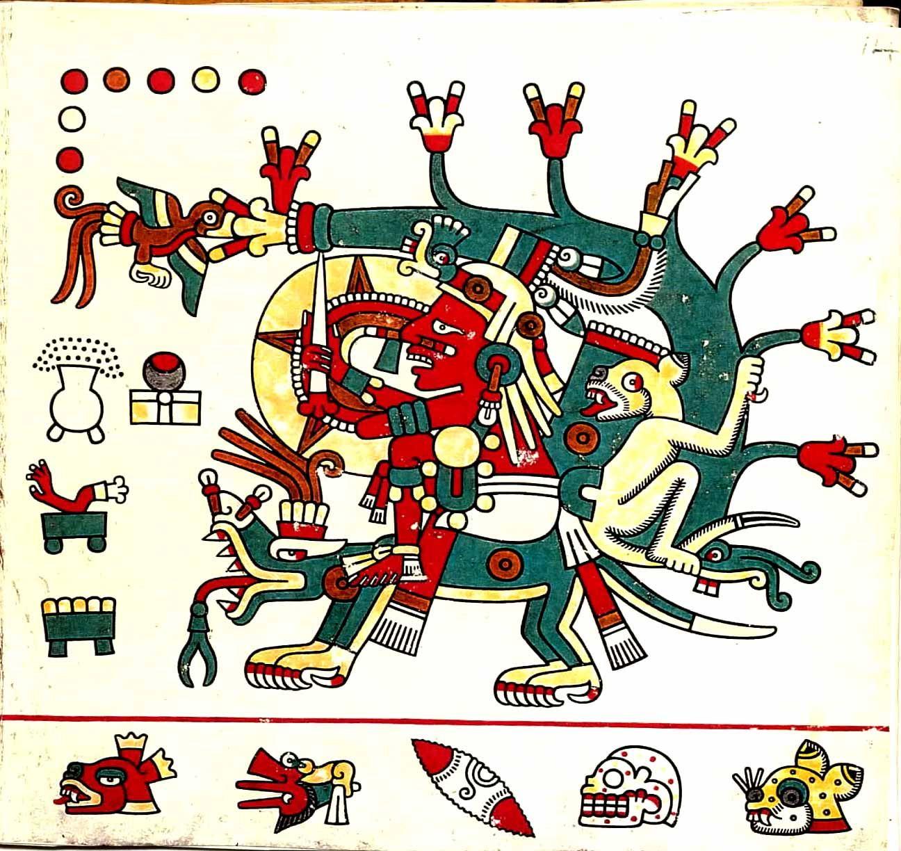 John Pohl S Ancient Books The Borgia Group Codex Laud Mayan Art Teotihuacan Art Art
