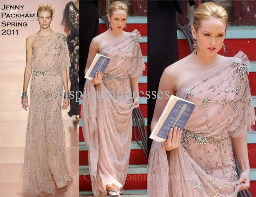2015 Real Images Evening Dresses Gossip Girl Jenny Packham One ...