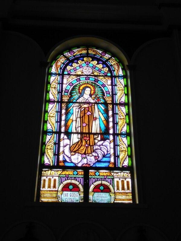 Arte sacra/vitral - Igreja do Divino Espirito Santo/Porto Alegre