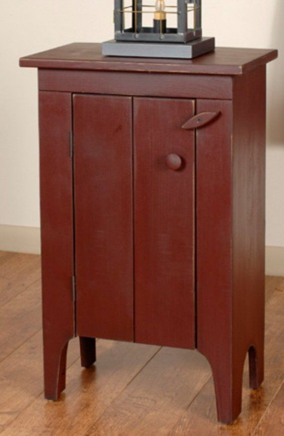 STYLE RUSTIC COUNTRY PRIMITIVE KITCHEN PANTRY JELLY CUPBOARD On