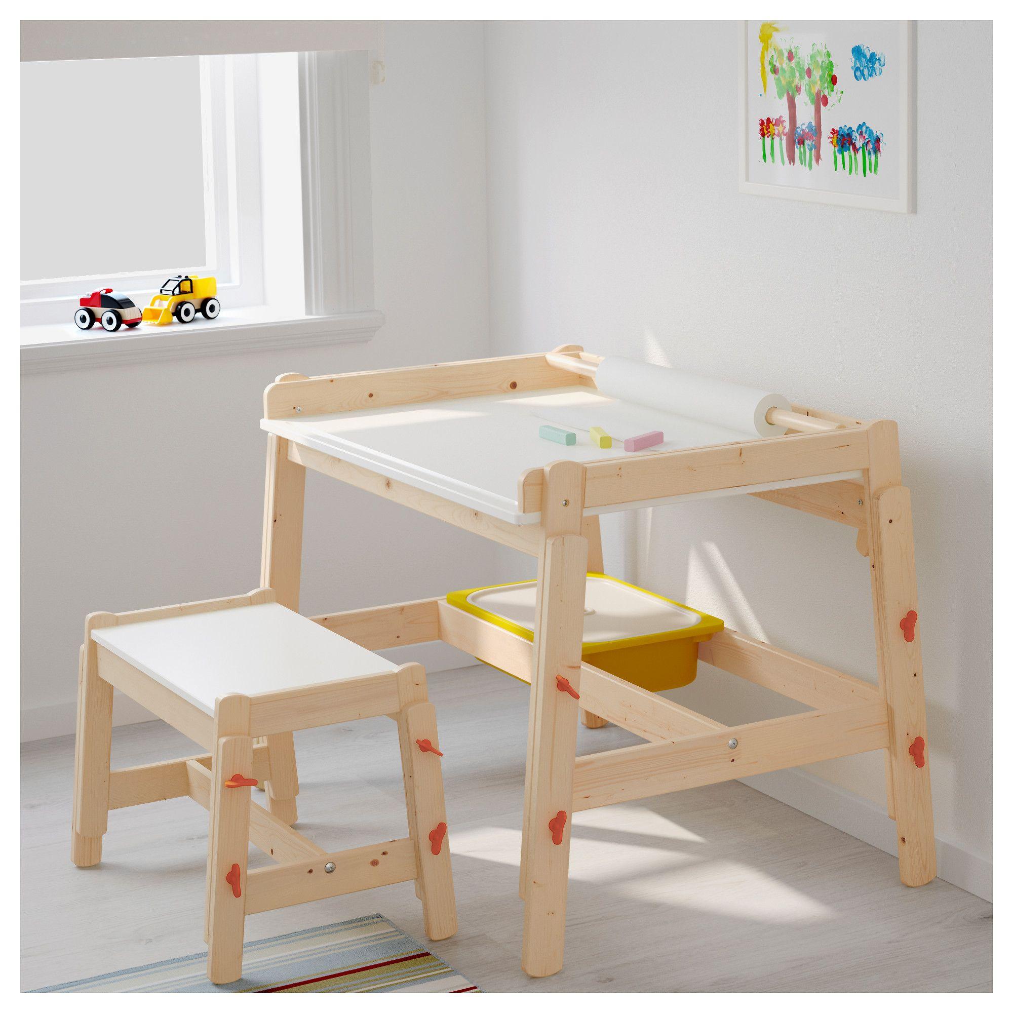 Ikea flisat childs bench adjustable childrens desk