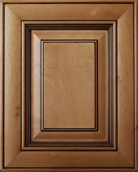 Black Glazed Kitchen Cabinets: Brown Cabinets With Black Glaze
