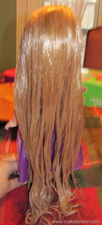 is your rapunzel doll tangled how to detangle doll hair zoe doll hair doll hair. Black Bedroom Furniture Sets. Home Design Ideas