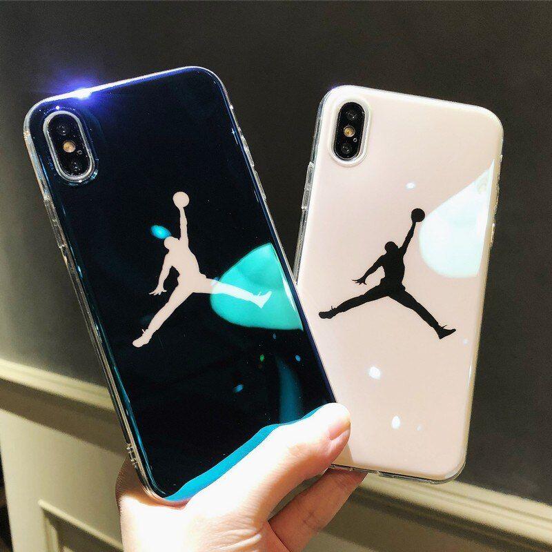 Flyman michael jordan soft iphone x 7 6 6s plus silicone