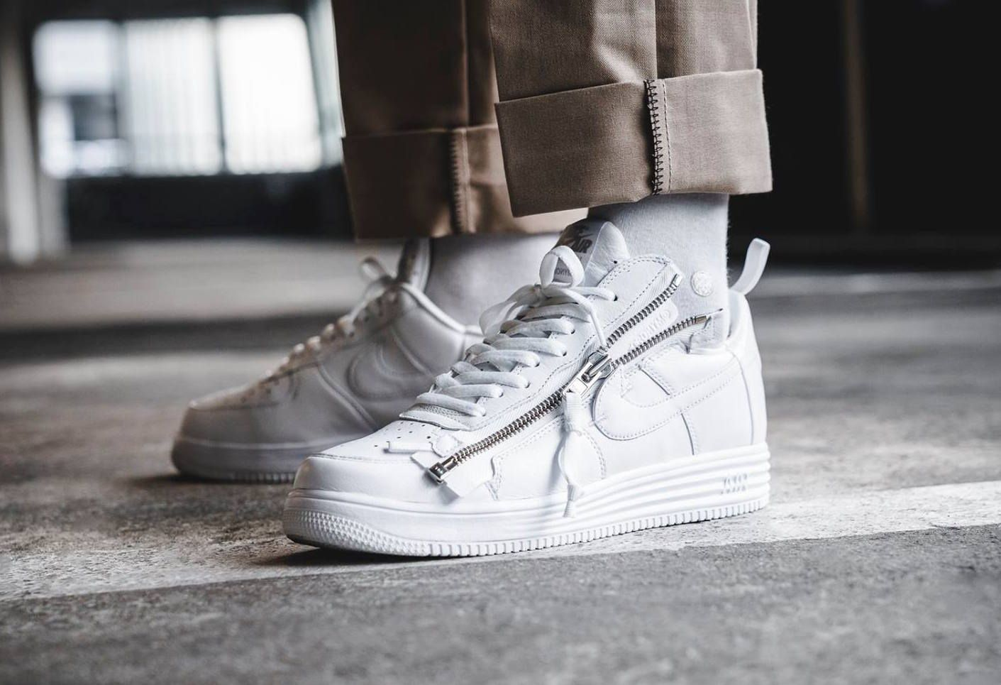Are You Looking Forward To The Acronym x Nike Lunar Force 1 Low