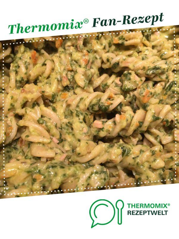 Spinat-Thunfisch Soße mit Möhren von Mina2014. Ein Thermomix ® Rezept aus der Kategorie Hauptgerichte mit Fisch & Meeresfrüchten auf www.rezeptwelt.de, der Thermomix ® Community.
