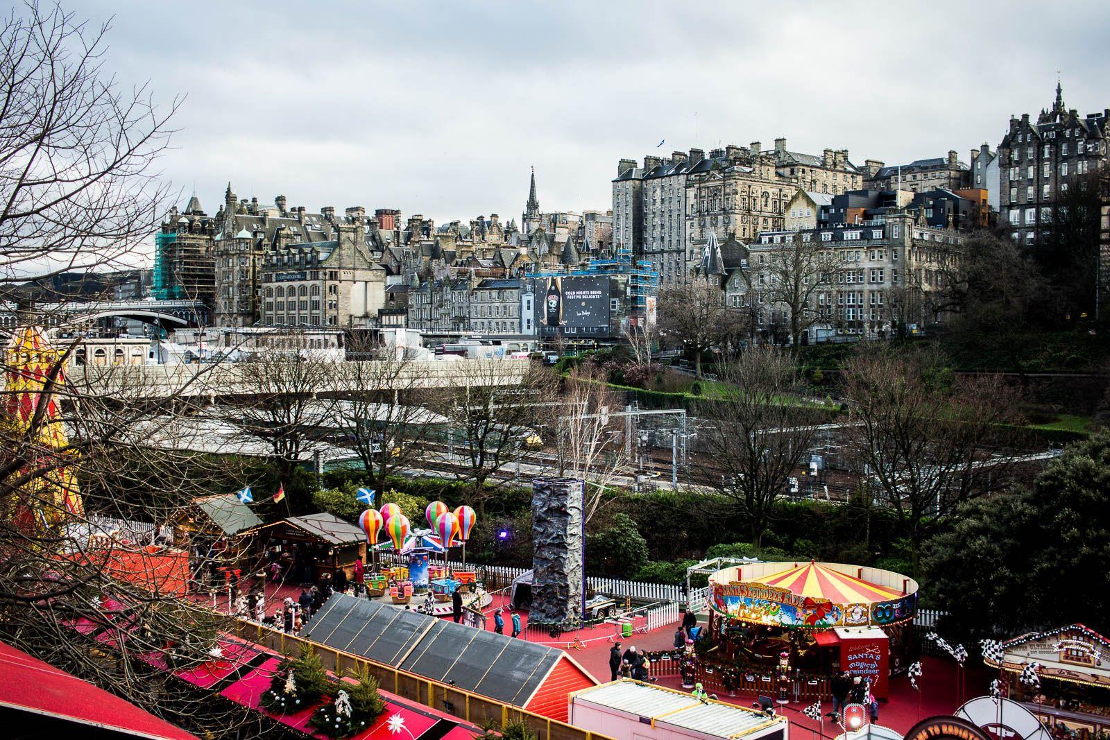 Spending New Year's Eve, or Hogmanay in Edinburgh is one
