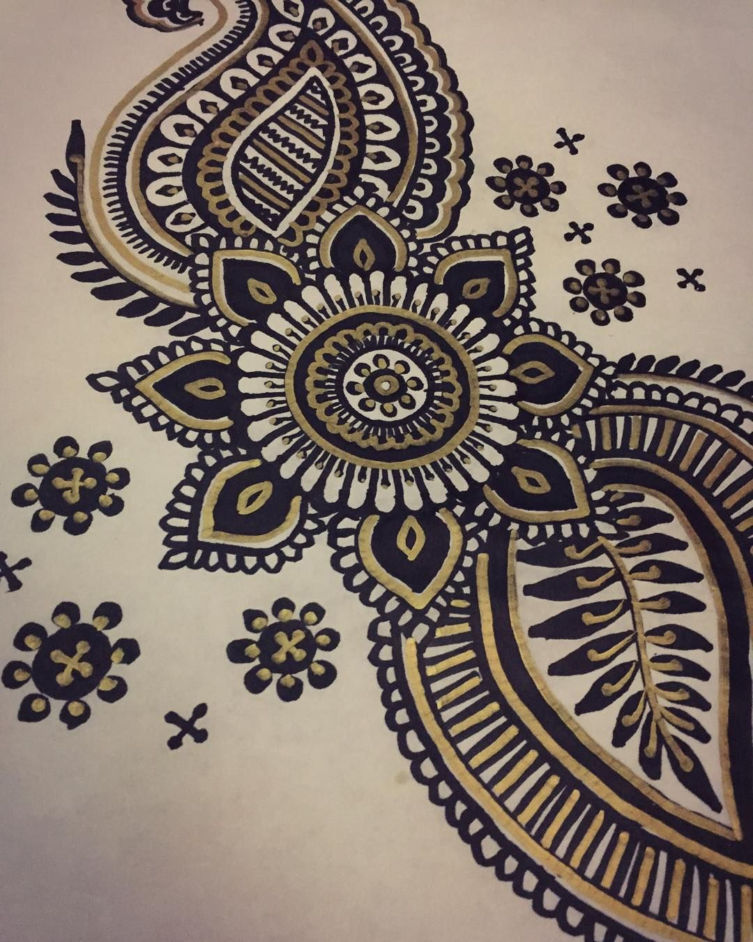 paisley designs to draw with sharpie. a quick drawing i did tonight on paper tablecloth at my favorite mexican restaurant freehanded with black and gold sharpie markers paisley designs to draw